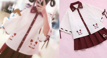 Load image into Gallery viewer, S/M Harajuku Fortune Cat Blouse SP165102