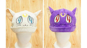[Sailor Moon] Luna/Artemis Fleece Hat SP154062 - SpreePicky  - 2