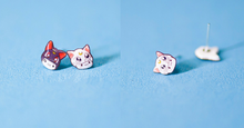 Load image into Gallery viewer, Sailor Moon Luna And Artemis Earrings SP165335