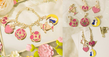 Load image into Gallery viewer, Sailor Moon Ornaments Bracelet/Pendant SP154561 - SpreePicky  - 2