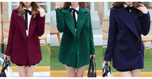 Load image into Gallery viewer, Wine/Green/Navy Sailor Uniform Coat SP154288 - SpreePicky  - 2