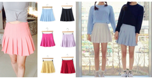Load image into Gallery viewer, XS-L High Waist Pleated Tennis Pantskirt/Skirt SP153892 Page1 - SpreePicky  - 2