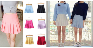 XS-L High Waist Pleated Tennis Pantskirt/Skirt SP153892 Page1 - SpreePicky  - 2