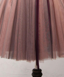 Stylish Tulle Lace Short Prom Dress, Formal Dress - DelaFur Wholesale