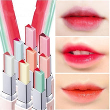 Load image into Gallery viewer, Harajuku Style Two Tone V Cutting Moisturizing Lipstick [8 Styles] SP14534