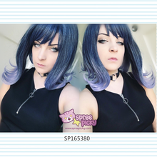 Load image into Gallery viewer, Final Stock! Lolita Mermaid Dark Blue Wig SP165380