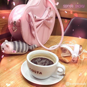 6 Colors Lolita Heart Shape Lady Hand Bag SP140459 - SpreePicky  - 2