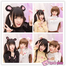 Load image into Gallery viewer, [5 Colors Bunny/Bear] Ears Hair Clip SP151694 - SpreePicky  - 2