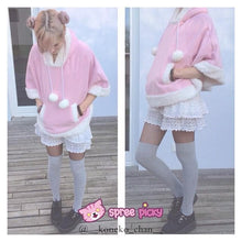 Load image into Gallery viewer, [11 Colors] Winter Candy Fleece Cloak Coat Hoodie Cape SP141334