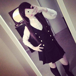 Cosplay Inu x Boku SS Roromiya Karuta and Shirakiin Ririchiyo Uniform Dress SP141201 - SpreePicky  - 5