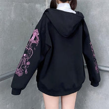 Load image into Gallery viewer, Embroidery JK Zipper Hooded Coat SP133