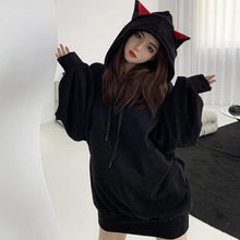 Load image into Gallery viewer, Cat Ears Oversized Hoodie SP15384