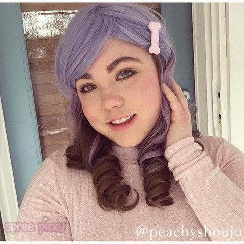 Harajuku Lolita Cosplay Purple Gradient 19INCH Wig SP130002
