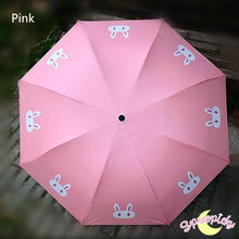 Load image into Gallery viewer, [3 Colors] Sailor Moon Crystal Usagi Bunny 3 Folding Umbrella SP151637 - SpreePicky  - 4
