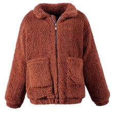 Load image into Gallery viewer, 8 Colors Thick Warm Fur Lambswool Jacket SP14662