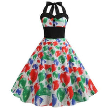Load image into Gallery viewer, Casual Floral Retro Vintage Dress - SpreePicky FreeShipping