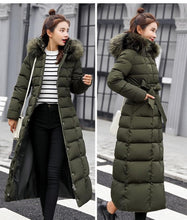 Load image into Gallery viewer, Slim Women Winter Jacket Cotton Padded Warm Thicken Long Coat SS0146 - SpreePicky FreeShipping