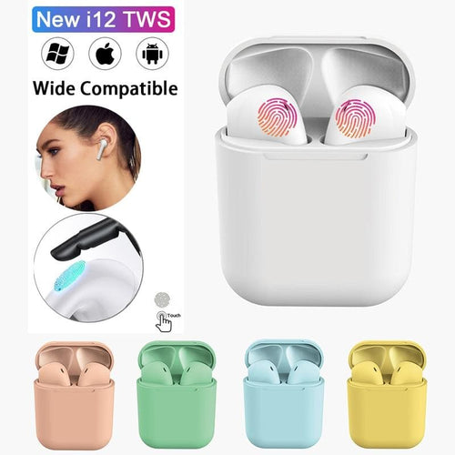 i12 TWS Bluetooth Wireless Earphone For i10 i20 TWS SP14156