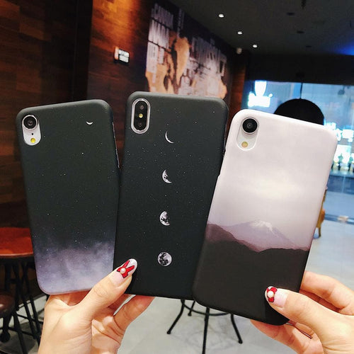 Starry Sky Space Moons Volcano Phone Case SS0164