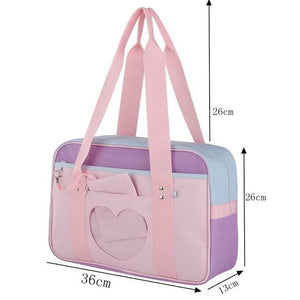 Lovely Girls Travel Large Capacity Canvas Bag SP14868