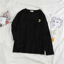 Load image into Gallery viewer, Kawaii Moon Sun Weather Sweatshirt SP14842