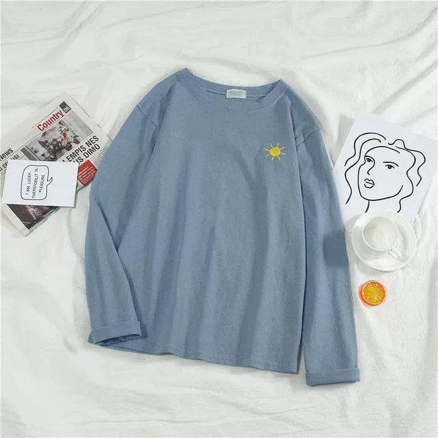Kawaii Moon Sun Weather Sweatshirt SP14842