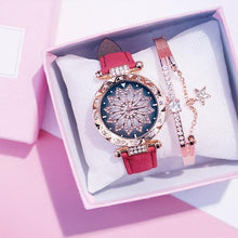 Load image into Gallery viewer, 9 Colors Starry Sky Watch Bracelet Set SP14617 - SpreePicky FreeShipping