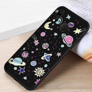 Soft Silicon Couple Pattern Case For Samsung SS0175