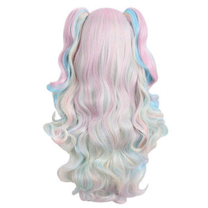 10 Colors Long Wavy Cosplay Wig SP14643