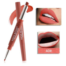 Load image into Gallery viewer, 2 In 1 Nude Makeup Liner Red lip Pencil Lipstick Waterproof Longlasting SP14633 - SpreePicky FreeShipping