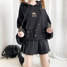 Load image into Gallery viewer, Black Space Travel Hoodie Jumper SP14483