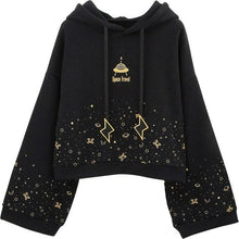 Load image into Gallery viewer, Black Space Travel Hoodie Jumper SP15404