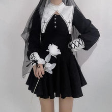 Load image into Gallery viewer, Black Gothic Lolita Dress SP15069