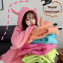 Load image into Gallery viewer, Candy Color Sweet Loose Hoodie Jumper SP15030