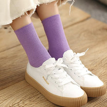 Load image into Gallery viewer, Colorful Retro Women Lady Cotton Loose Socks SP15251