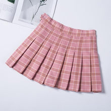 Load image into Gallery viewer, Fashion Preppy Style Plaid Skirt SP14812