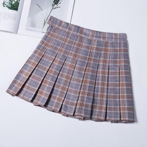 Fashion Preppy Style Plaid Skirt SP14812