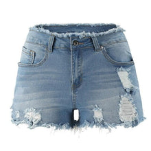 Load image into Gallery viewer, 6 Colors Ripped Denim Shorts SP14836