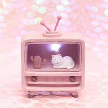 Load image into Gallery viewer, Cute Cat LED Table Lamp SP14803