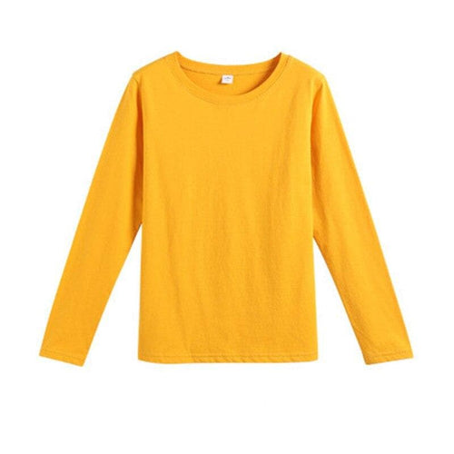 9 Colors Long Sleeve Top Shirt SP14819