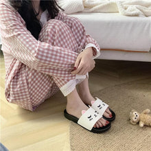 Load image into Gallery viewer, Cute Cartoon Cat Home Indoor Slippers SP14927