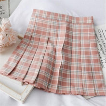 Load image into Gallery viewer, Sweet Preppy Style Plaid Skirt SP14829