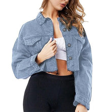 Load image into Gallery viewer, Sexy Basic Coat Denim Jacket SS0307
