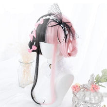 Load image into Gallery viewer, Pink&Black Lolita Cosplay Wig SP14909