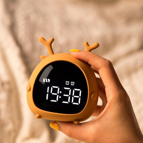 Lovely Personality Voice LED Alarm Clock SS0302