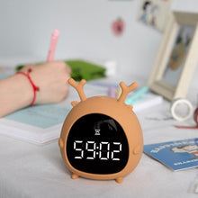 Load image into Gallery viewer, Lovely Personality Voice LED Alarm Clock SP14886