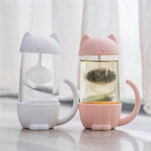 Lovely Fish Filter Cat Water Bottle SP14871
