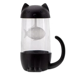 Lovely Fish Filter Cat Water Bottle SS0326