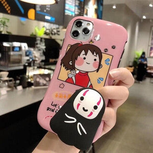 Silicone stand Spirited Away Totoro soft Mobile phone case SP14878