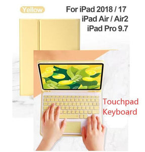 Bluetooth Touchpad Keyboard Case SS0332